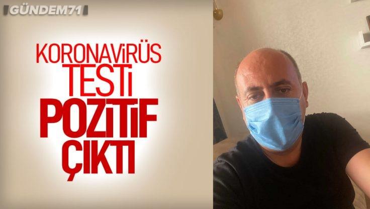 Osman Türkyılmaz'ın Koronavirüs Testi Pozitif Çıktı
