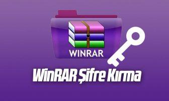 WinRAR Şifre Kırma