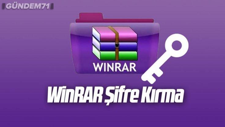 WinRAR Şifre Kırma [2021]