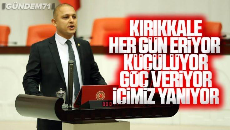 Ahmet Önal TBMM Genel Kurulu'nda Konuştu