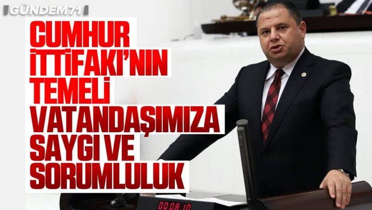 Halil Öztürk, TBMM'de Cumhur İttifakı'nın Önemini Vurguladı