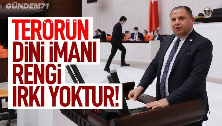 """Halil Öztürk, """"Kitle İmha Silahlarının Yayılmasının ve Finansmanının Sınırlandırılmasına"""" İlişkin TBMM'de Konuştu"""