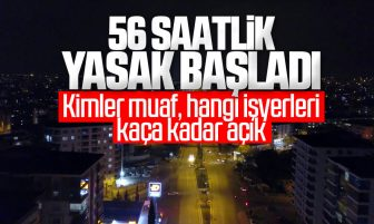 Kırıkkale'de Hafta Sonu Sokağa Çıkma Yasağı Başladı