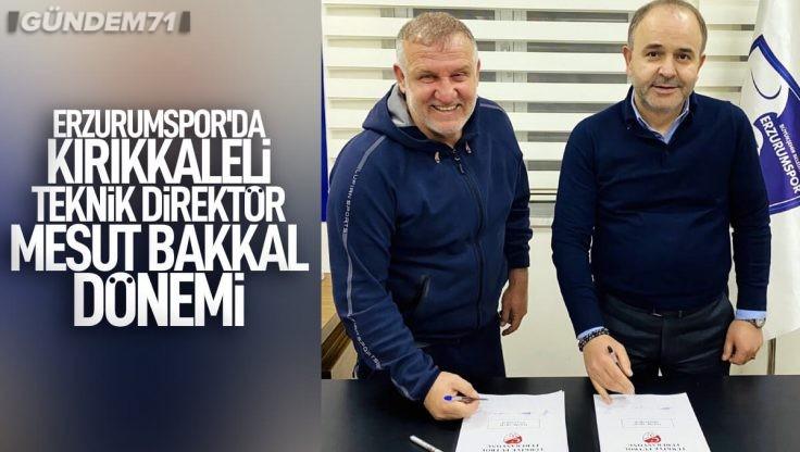 Erzurumspor'da Mesut Bakkal Dönemi