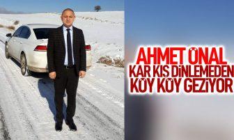 Ahmet Önal Köy Ziyaretlerine Devam Ediyor