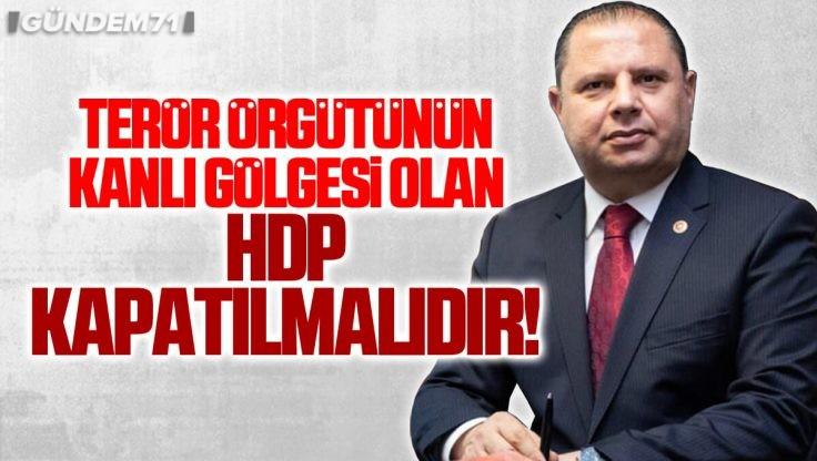 """Halil Öztürk: """"HDP'nin Kapatılması İçin Yeterli Hukuki Delili Oluşturmaktadır"""""""