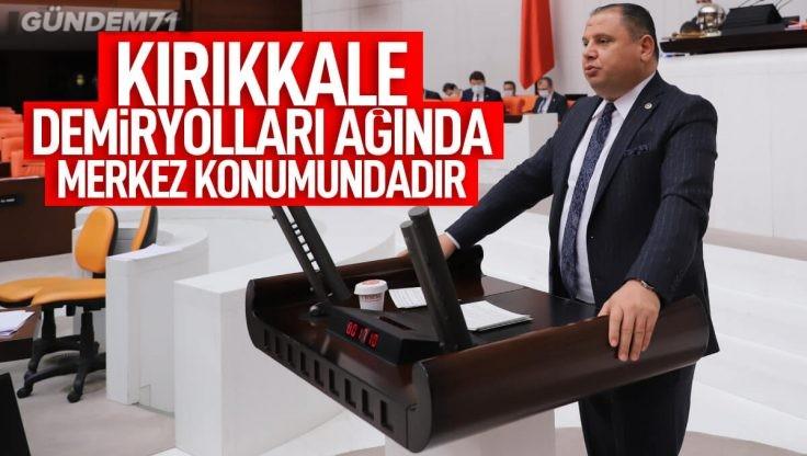 MHP'li Öztürk Kırıkkale'nin Ulaşım Yatırımlarını Sordu