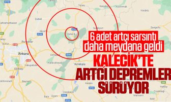 Kalecik'te Artçı Depremler Sürüyor
