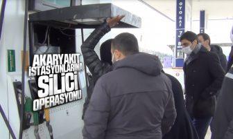 """Kırıkkale'de Akaryakıt İstasyonlarına """"Silici"""" Operasyonu"""