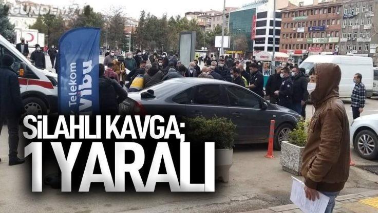 Kırıkkale Cumhuriyet Meydanı'nda Silahlı Kavga; 1 Yaralı