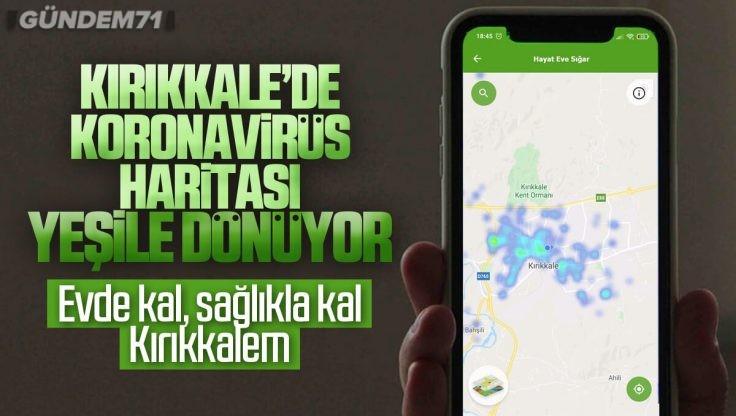 Kırıkkale Koronavirüs Haritası Yeşile Döndü