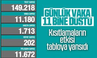 2 Ocak Türkiye'de Koronavirüs Son Durum