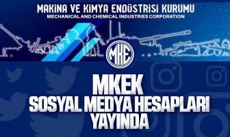 MKEK'in Resmi Sosyal Medya Hesapları Yayında
