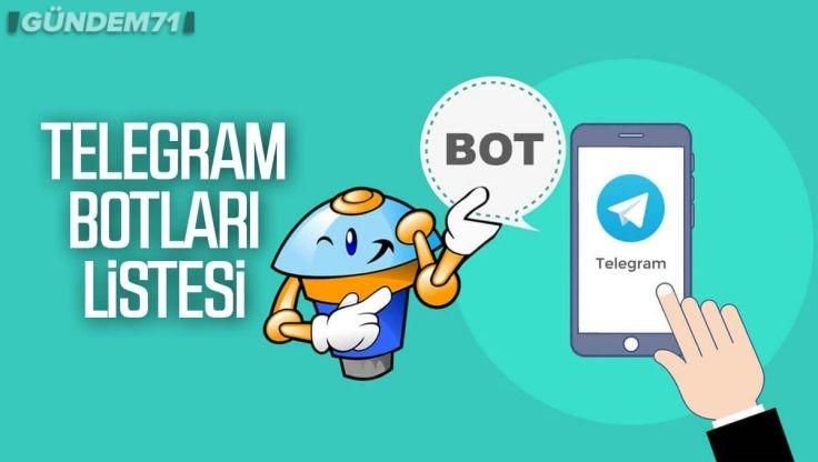 Telegram Botları Nedir? En İyi Telegram Botları Listesi 2021