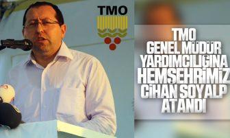 TMO Genel Müdür Yardımcılığına Kırıkkaleli Hemşehrimiz Cihan Soyalp Atandı