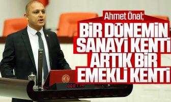 Ahmet Önal Kırıkkale ve Esnafın Sorunları Hakkında TBMM'de Konuştu