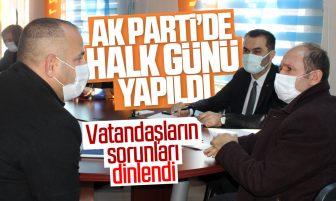 """AK Parti Kırıkkale İl Başkanlığı Tarafından """"Halk Günü"""" Etkinliği Yapıldı"""