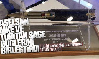 100 Bin Adet ATOM 35mm Parçacıklı Mühimmat Elektroniği Üretildi