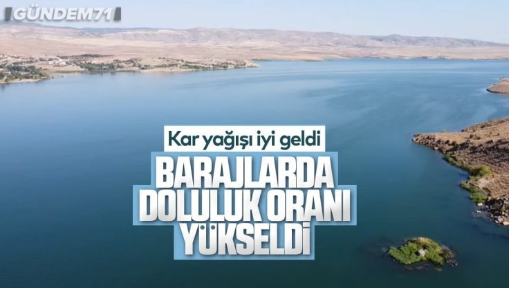 Kırıkkale'de Barajların Doluluk Oranı Yükseldi