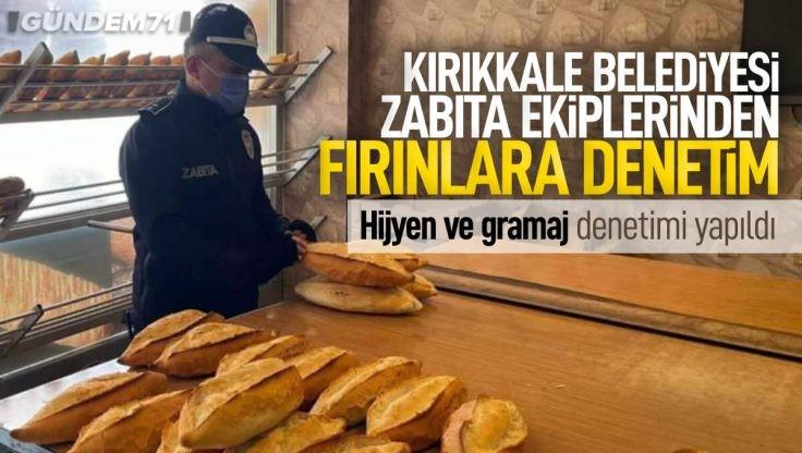 Kırıkkale Belediyesi Zabıta Ekipleri Denetimlere Ara Vermiyor
