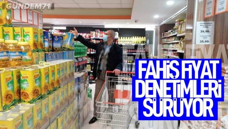 Kırıkkale'de Fahiş Fiyat Denetimleri Sürüyor