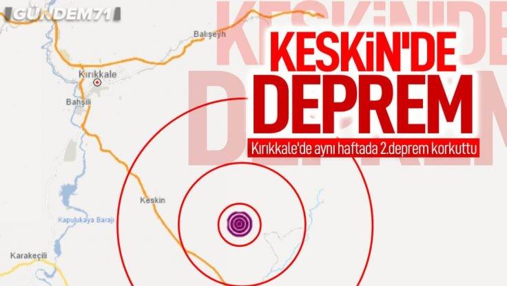 Keskin'de Deprem