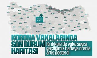 Kırıkkale'de Haftalık Koronavirüs Vaka Sayısı Arttı
