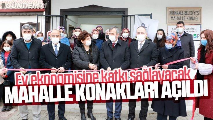 Kırıkkale Belediyesi'nden Ev Ekonomisine Katkı Sağlayacak Proje