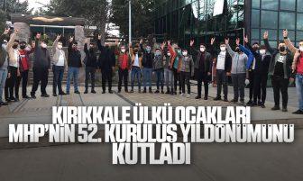 Kırıkkale Ülkü Ocakları Milliyetçi Hareket Partisi'nin 52. Kuruluş Yıldönümünü Kutladı