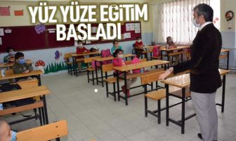 Kırıkkale'de Yüz Yüze Eğitim Başladı
