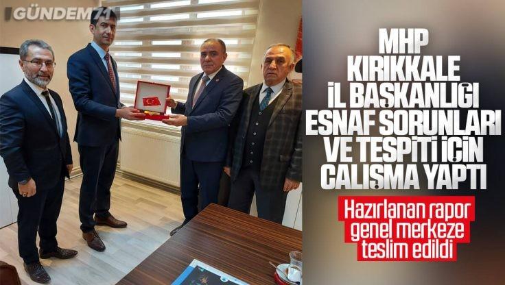 MHP Kırıkkale İl Başkanlığı Esnaf Sorunları Tespiti ve Çözümü İçin Çalışma Yaptı