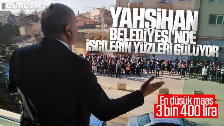 Başkan Türkyılmaz Sözünü Tutarak İşçilerin Yüzünü Güldürdü