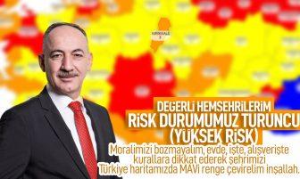 Kırıkkale Belediye Başkanı Mehmet Saygılı'dan Risk Haritası Açıklaması