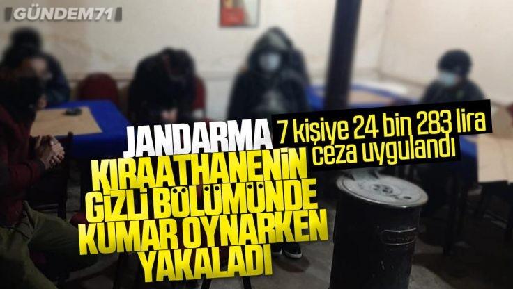 Kırıkkale'de Kumar Oynayan 7 Kişiye 24 Bin 283 Lira Para Cezası Kesildi
