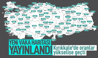 Türkiye'nin Güncel Haftalık Vaka Haritası Yayınlandı; Kırıkkale Yükselişte