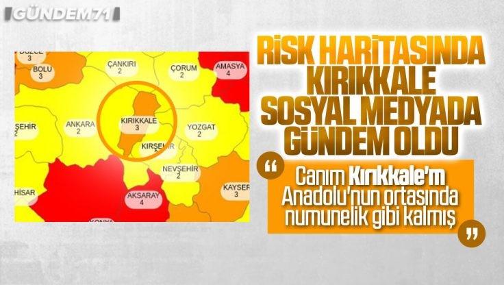 Koronavirüs Risk Haritası'nda Kırıkkale Sosyal Medyada Gündem Oldu