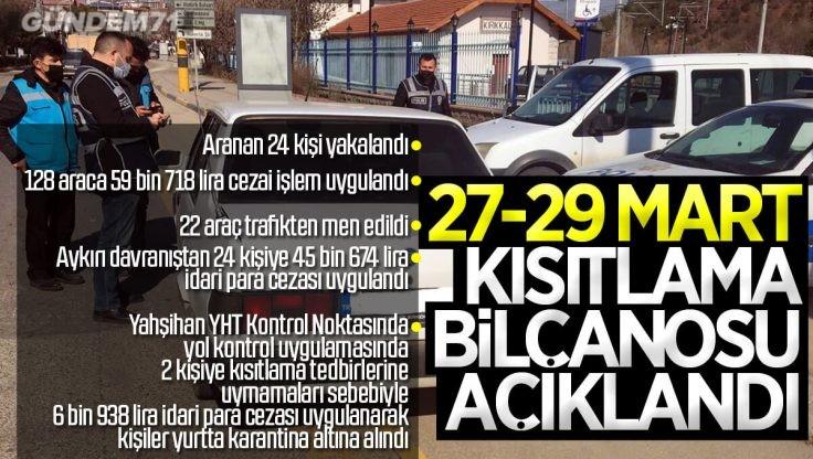 Kırıkkale'nin Sokağa Çıkma Kısıtlaması Bilançosu Açıklandı