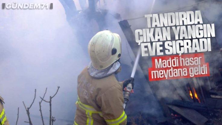 Kırıkkale'de Yangın; Maddi Hasar Meydana Geldi