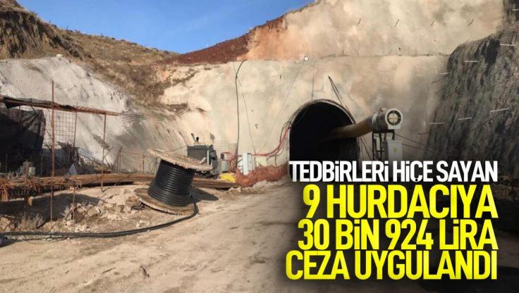 Kırıkkale'de Tedbirleri Hiçe Sayan Hurdacılara Ceza