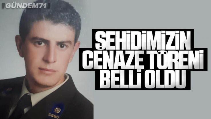 Şehit Astsubay Kıdemli Üstçavuş Ömer Umulu'nun Cenaze Töreni Belli Oldu