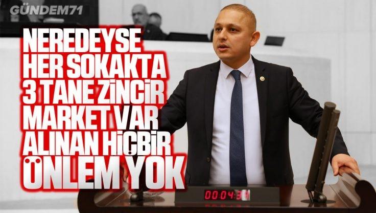 Ahmet Önal, Kırıkkale Esnafının Sorunlarını TBMM'de Dile Getirdi