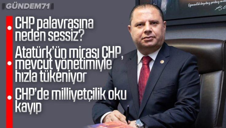 Halil Öztürk, CHP'ye Eleştirilerde Bulundu
