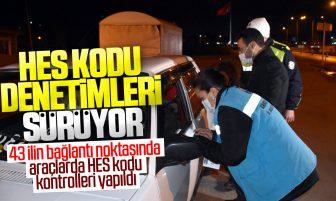Kırıkkale'de HES Kodu Kontrolleri Sürüyor