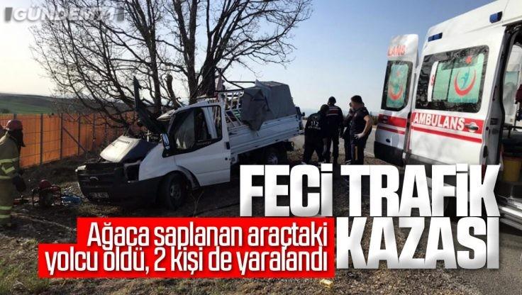 Kırıkkale'de Feci Trafik Kazası; 1 Ölü, 2 Yaralı