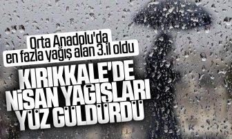 Kırıkkale Nisan Ayı'nın İlk Yarısında 14,6 mm Yağış Aldı