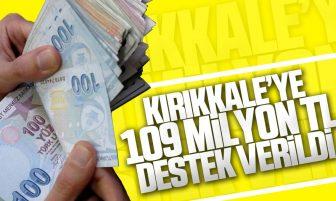 Kırıkkale'ye Sosyal Koruma Kalkanı Kapsamında 109 Milyon Lira Yardım Yapıldı