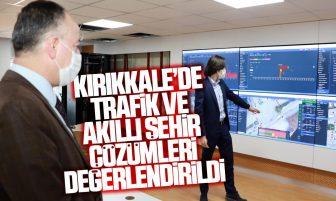 ASELSAN'ın Kırıkkale'de Yaptığı Trafik ve Akıllı Şehir Çözümleri Değerlendirildi
