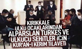 Kırıkkale Ülkü Ocakları Başbuğ Alparslan Türkeş ve Ülkücü Şehitler İçin Kur'an-ı Kerim Okuttu