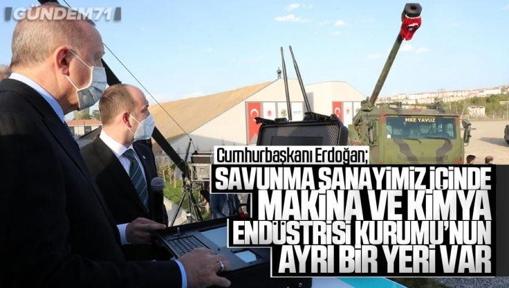 Cumhurbaşkanı Erdoğan, MKE'nin Enerjetik Malzemeler Üretim Tesisi Açılışı ve Ürün Lansmanı'na Katıldı