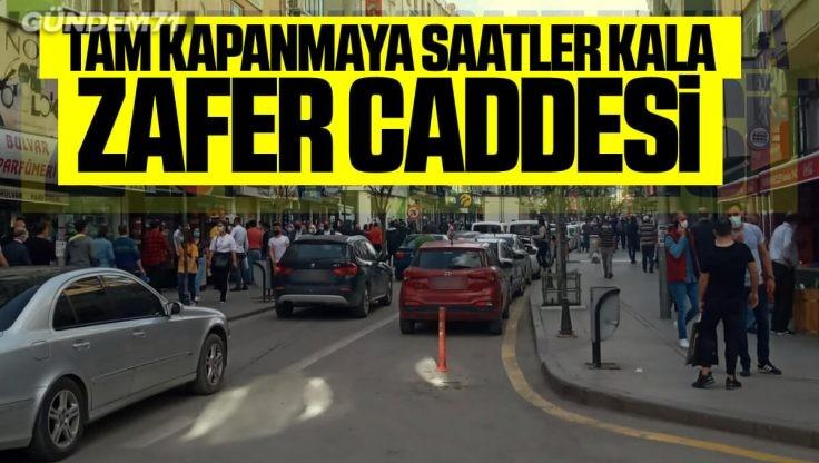 Kırıkkale'de Tam Kapanma Öncesi Yoğunluk